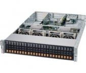 Supermicro AMD EPYC A+ Server 2123US-TN24R25M Dual Socket, 24x NVMe, Dual 25G SFP28 LAN
